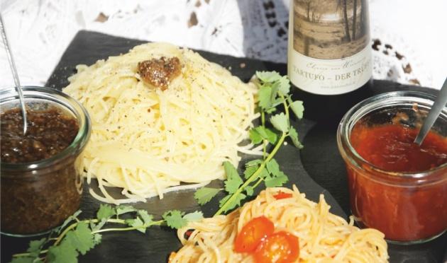 Spaghetti mit Tartufo Trüffelessig